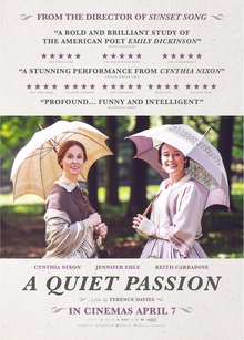 'A Quiet Passion' film about Emily Dickinson